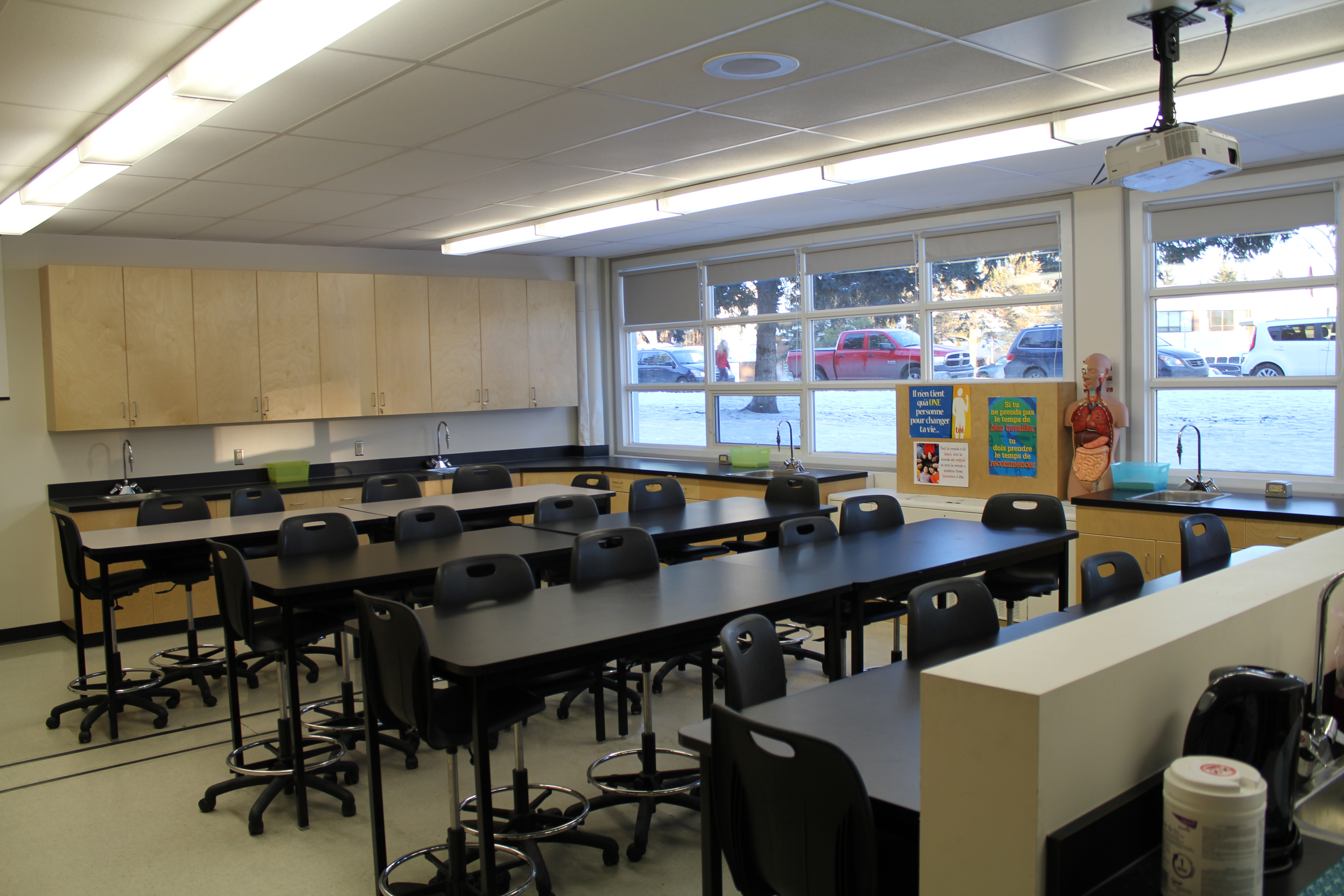 Our new Science Lab