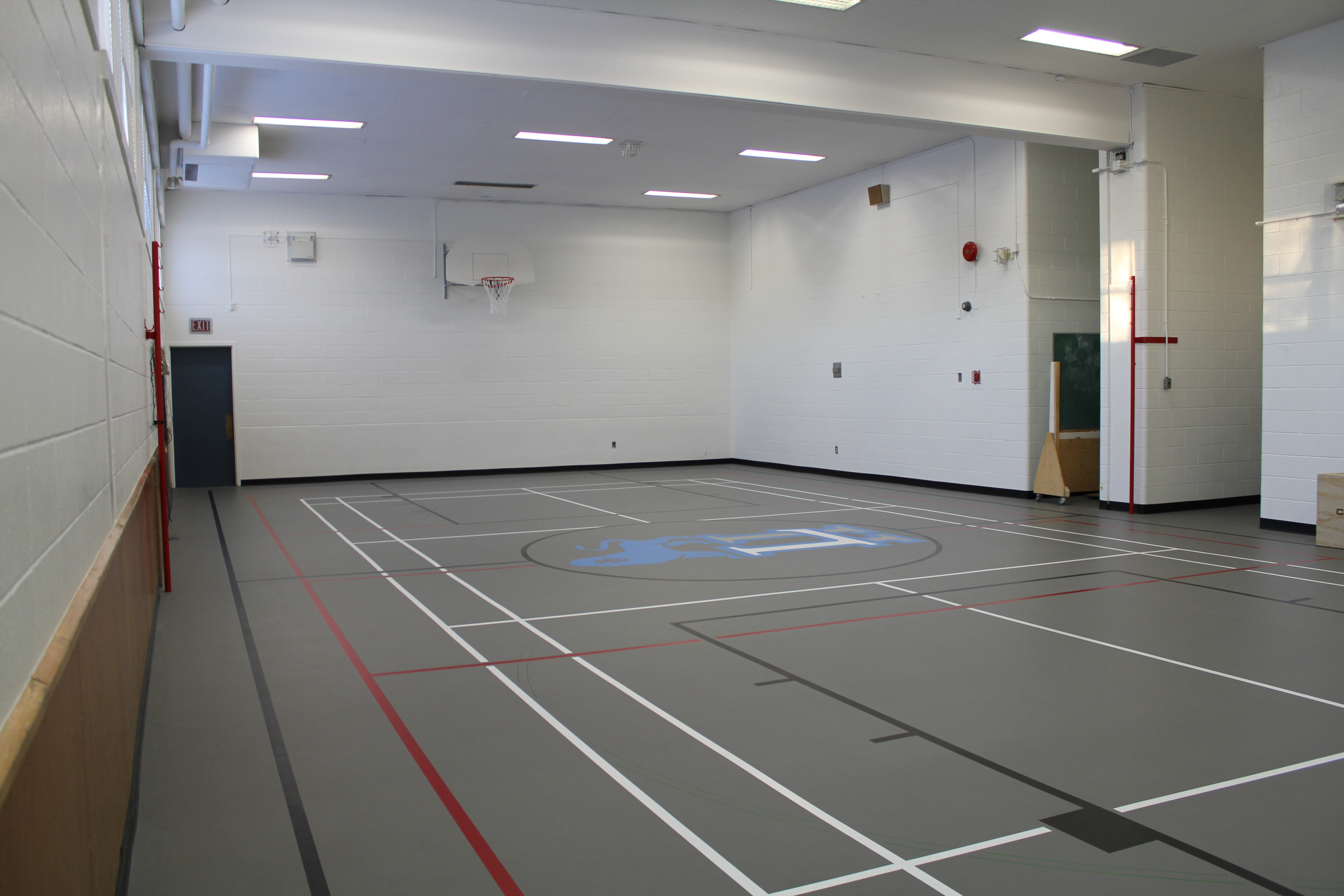 Our Small Gym after construction.