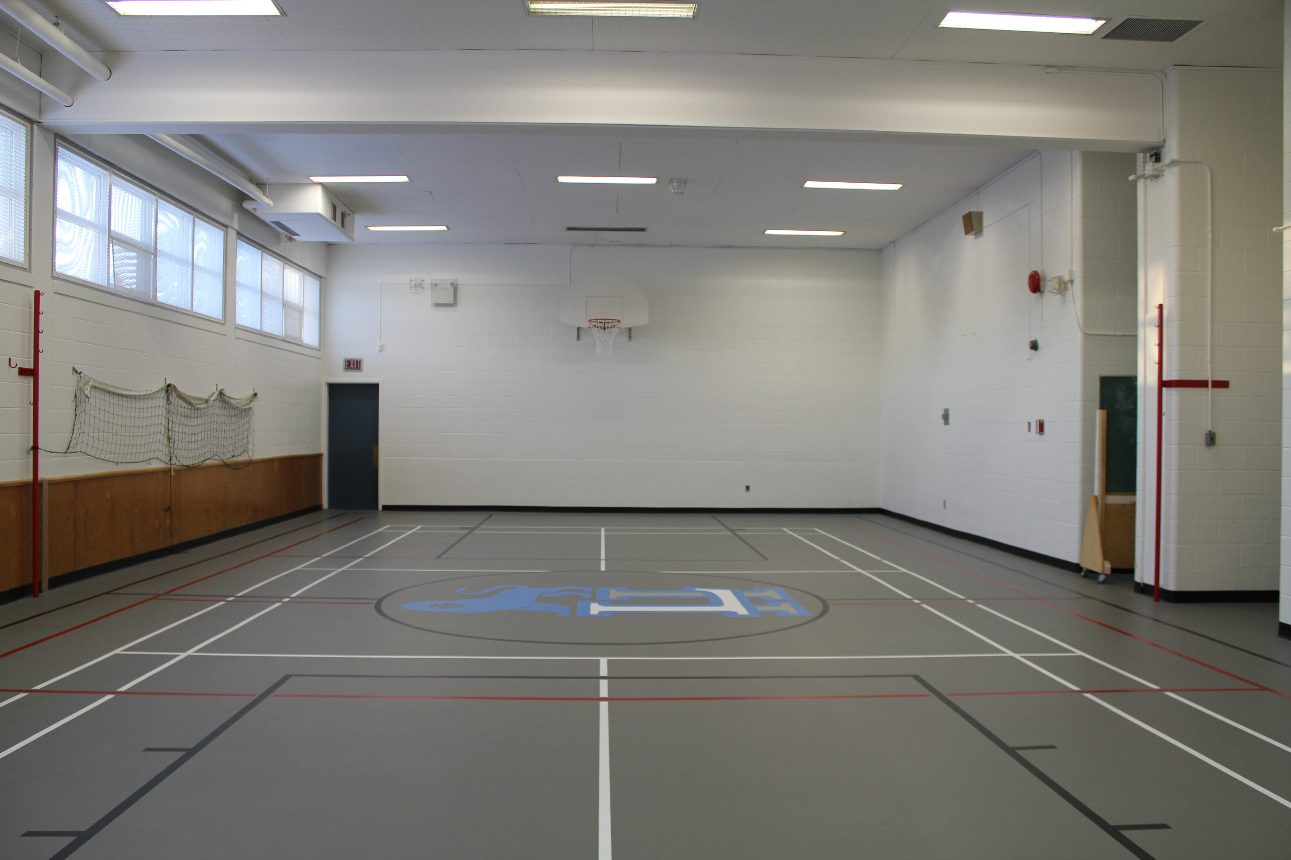 Our Small Gym Finished.